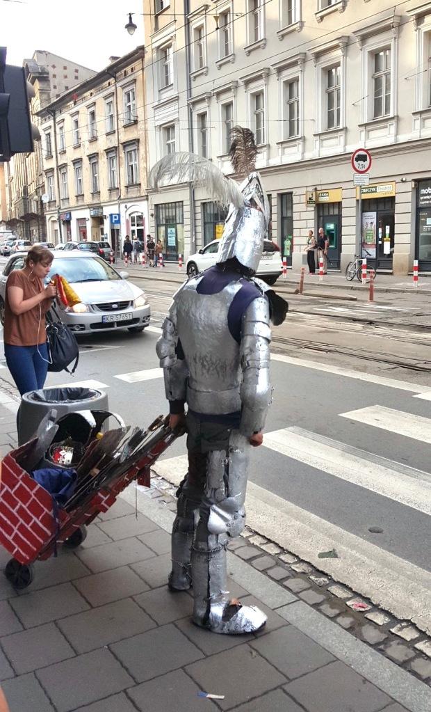 Krakow Sokak Sanatçısı